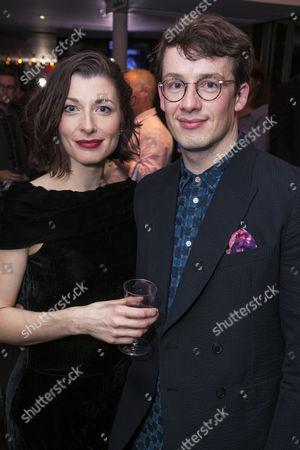 Frances McNamee (Josephine) and Matt Seadon-Young (Will Bloom)