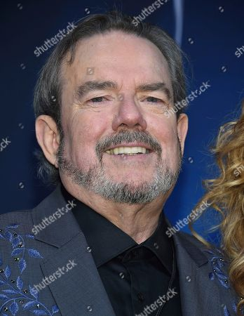 Songwriter and musician Jimmy Webb poses in the press room at the 51st annual CMA Awards at the Bridgestone Arena, in Nashville, Tenn