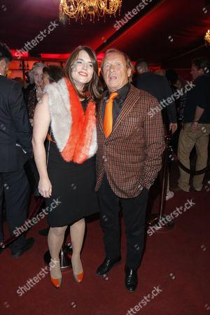 Claus Theo Gaertner and Ehefrau Sarah