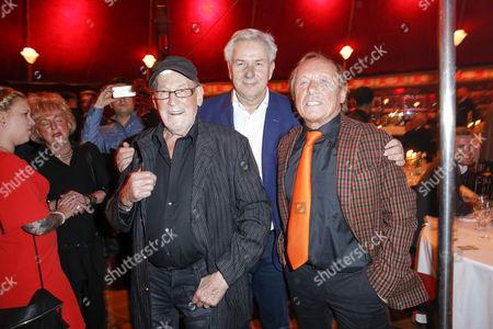 Stock Image of Herbert Koefer, Klaus Wowereit, Claus Theo Gaertner