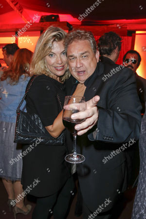 Stock Picture of Oliver Kalkofe and Ehefrau Connie