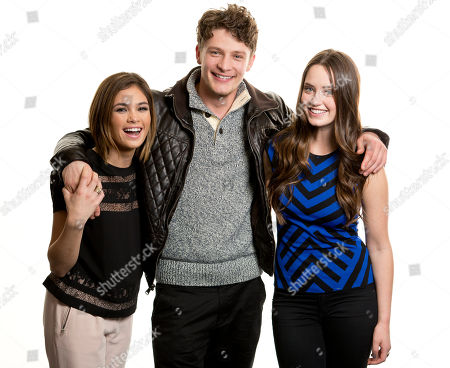 """From left, actors Nicole Gale Anderson, Brett Dier and Merritt Patterson from the ABC Family television series, """"Ravenswood,"""" pose for a portrait, on in New York. From the ABC Family television series, """"Pretty Little Liars,"""" actress Sasha Pietrese poses for a portrait, on Monday, Dec. 9, 2013 in New York. *FOLLOW ALL ABOVE CAPTIONS WITH"""