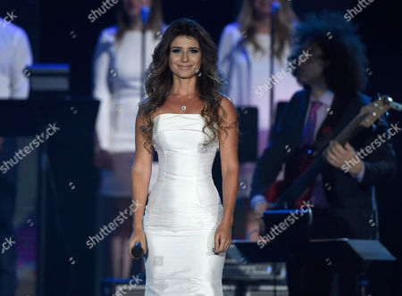 "Paula Fernandes performs ""Propuesta"" at the Latin Recording Academy Person of the Year Tribute honoring Roberto Carlos at the Mandalay Bay Convention Center, in Las Vegas"