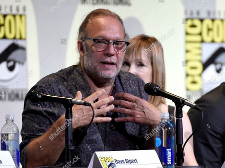 "Gregory Nicotero attends the ""Fear the Walking Dead"" panel on day 2 of Comic-Con International, in San Diego"