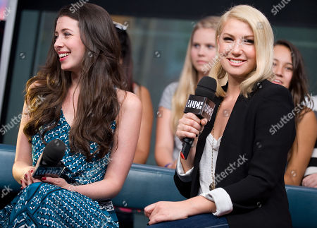 Editorial picture of Ari Graynor, Lauren Anne Miller and Victoria Duffield Visit New.Music.Live. - 23 Aug 2012