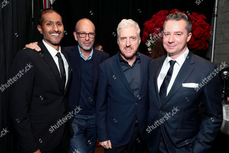 Abhijay Prakash, Chief Operating Officer, Focus Features, Eric Fellner, Producer, Anthony McCarten, Writer/Producer, Robert Walak, President, Focus Features,