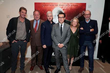 Tim Bevan, Producer, Douglas Urbanski, Producer, Anthony McCarten, Writer/Producer, Joe Wright, Director, Lisa Bruce, Producer, Eric Fellner, Producer,