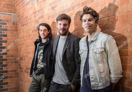 Editorial image of Britain Klaxons, London, United Kingdom - 6 Jun 2014