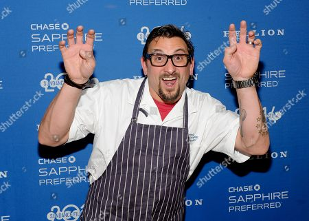 Chef Chris Cosentino developed a custom menu for the Hellion premiere party presented by Chase Sapphire Preferred during the Sundance Film Festival, on in Park City, Utah