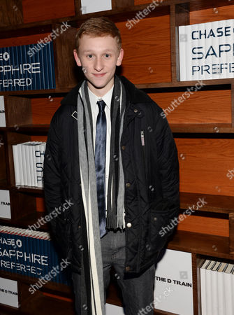 "Actor Russell Posner attends ""The D Train"" cast party hosted by Chase Sapphire Preferred during the Sundance Film Festival on in Park City, Utah"