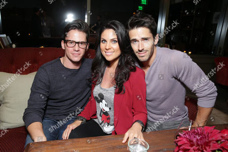 Mark Hapka, Nadia Bjorlin and Brandon Beemer at Columbia Pictures' 'White House Down' Special Screening, on in Los Angeles