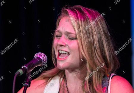 Stock Photo of Crystal Bowersox performs at Eddie's Attic, in Atlanta