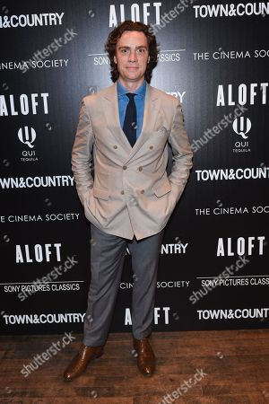 """Editor In Chief of Town and Country, Jay Fielden attends a special screening of """"Aloft"""" hosted by The Cinema Society and Town & Country at the Tribeca Grand Hotel, in New York"""