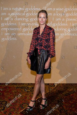 Sophie Oakley attends the Alice + Olivia by Stacey Bendet Fashion Presentation, in New York