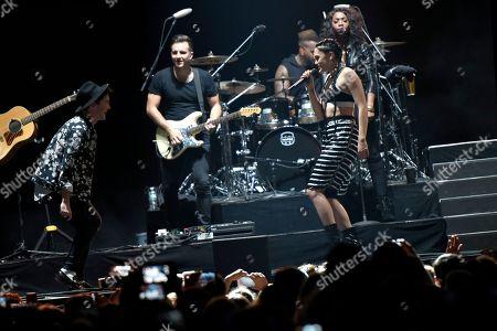 Editorial image of Pop-Tarts Crazy Good Summer Concert, New York, USA - 3 Sep 2015