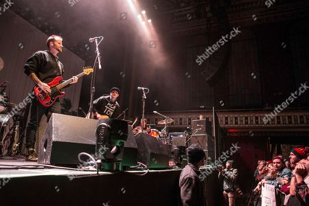 Rich Meyer, Ryan Meyer and Johnny Stevens with Highly Suspect performs during the Radio 105.7 Holiday Spectacular at the Tabernacle, in Atlanta