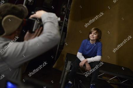 Deke Garner seen at The Hollywood Reporter Lounge, on in Park City, Utah