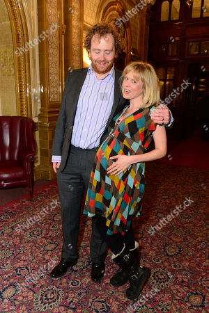 Adam Speers & Beth Cordingly are seen at the after-party following a performance of The Hothouse at One Whitehall Place in London on . The Hothouse, a play by Harold Pinter, is a 'tragicomedy' about delusion and deceit in a state-run mental institution on Christmas Day