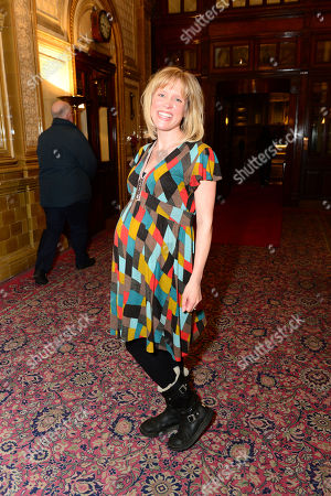 Beth Cordingly is seen at the after-party following a performance of The Hothouse at One Whitehall Place in London on . The Hothouse, a play by Harold Pinter, is a 'tragicomedy' about delusion and deceit in a state-run mental institution on Christmas Day
