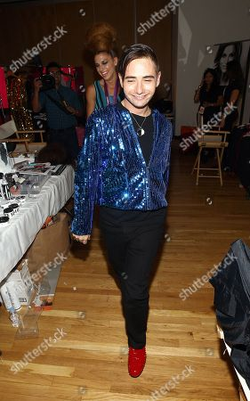 Editorial image of The JUST DANCE Fashion Show by Tumbler and Tipsy, New York, USA - 11 Sep 2012