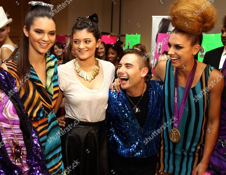 Editorial photo of The JUST DANCE Fashion Show by Tumbler and Tipsy, New York, USA - 11 Sep 2012