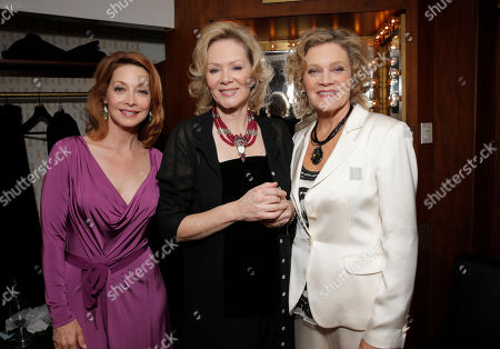 Stock Photo of Sharon Lawrence, Jean Smart and Deborah May backstage at the National Breast Cancer Coalition Fund's 13th Annual Les Girls on in Hollywood, Calif