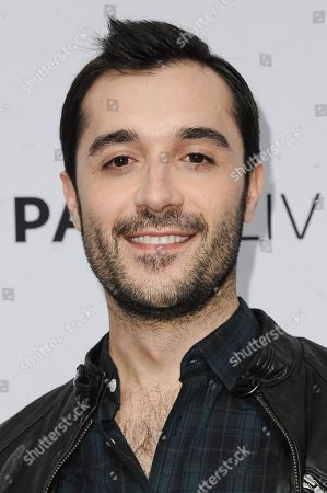 """Frankie J. Alvarez arrives at The Paley Center For Media Presents An Evening With HBO's """"Looking"""", in Beverly Hills, Calif"""