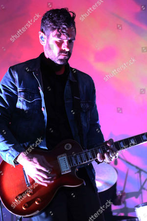 Tycho performs at Chastain Park Amphitheatre, in Atlanta