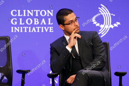 Editorial image of unite4:good Launches Global Movement at Clinton Global Initiative, New York, USA - 25 Sep 2013