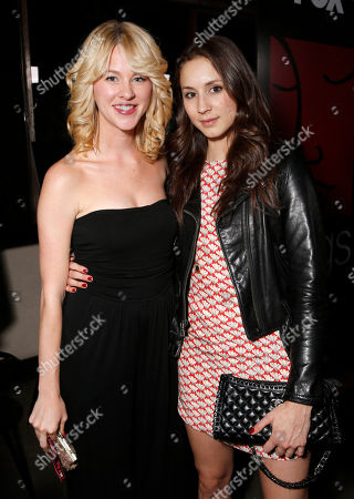 Kim Shaw and Troian Bellisario attend the WIGS One Year Anniversary Party on in Culver City, CA