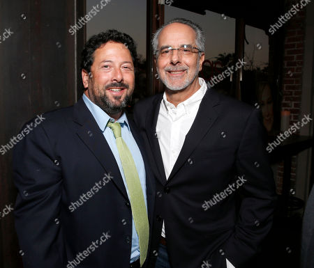 CAA agent Josh Lieberman and WIGS co-creator Jon Avnet attend the WIGS One Year Anniversary Party on in Culver City, CA