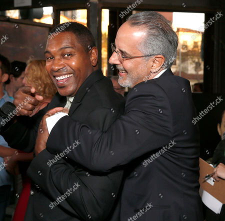 Mykelti Williamson and WIGS co-creator Jon Avnet attend the WIGS One Year Anniversary Party on in Culver City, CA
