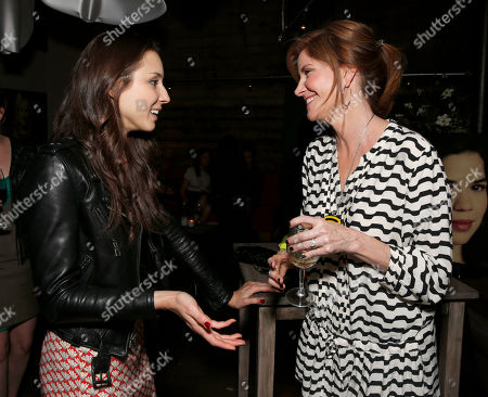 Troian Bellisario and Melinda McGraw attend the WIGS One Year Anniversary Party on in Culver City, CA