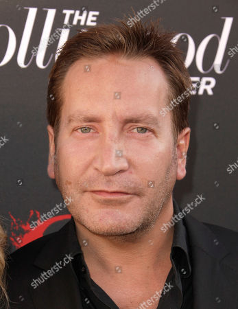 Stock Picture of Actor Ronan Vibert arrives at the world premiere of Hatfields & McCoys on in Los Angeles
