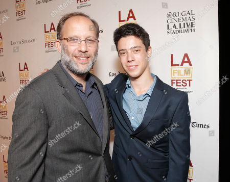 Director Ira Sachs and Eric Tabach attend the 2014 Los Angeles Film Festival screening of 'Love Is Strange' at the Bing Theatre at LACMA on in Los Angeles