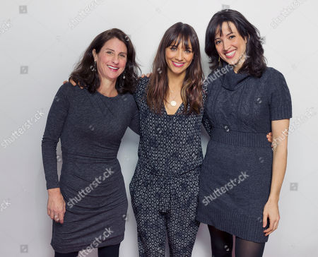 "Rashida Jones, center, and from left directors Jill Bauer and Ronna Gradus pose for a portrait to promote the film, ""Hot Girls Wanted"", at the Eddie Bauer Adventure House during the Sundance Film Festival, in Park City, Utah"