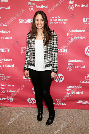 "Stock Picture of Producer Stephanie Langhoff, right, pose at the premiere of ""The Bronze"" during the 2015 Sundance Film Festival, in Park City, Utah"