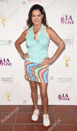 Paula Trickey attends the 2016 Emmys Golf Classic presented by the Television Academy Foundation at the Wilshire Country Club, in Los Angeles