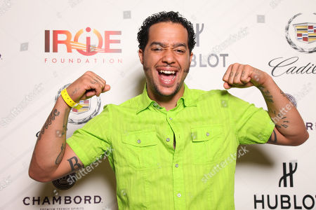 SkyBlu attends the 9th Annual Irie Weekend Celebrity Golf Tournament on Friday, June, 28, 2013 at Miami Beach Golf Club in Miami Beach, Fl