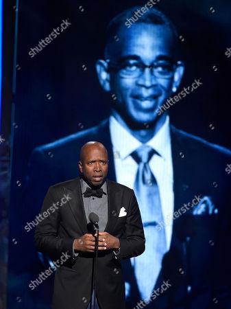 Editorial photo of APTOPIX 2015 BET Awards - Show, Los Angeles, USA - 28 Jun 2015