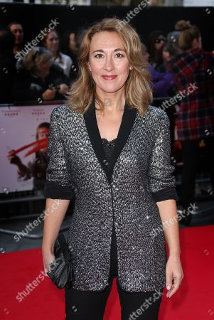 Actress Dorothy Atkinson arrives for the London Film Festival premiere of Mr Turner at the Odeon West End in central London