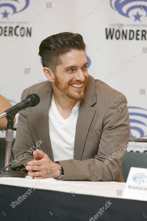 "Stock Picture of Josh Keaton seen at DreamWorks Animation ""Voltron: Legendary Defender"" Wondercon Presentation at Los Angeles Convention Center, in Los Angeles, CA"