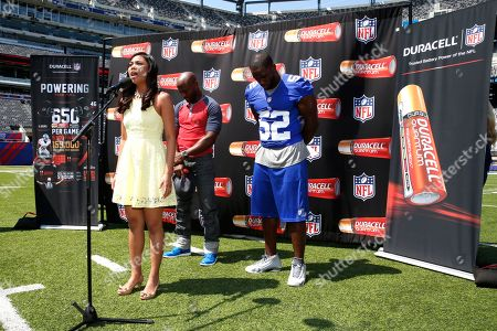 Editorial image of Duracell Powers the NFL MetLife Stadium Tour - 27 Aug 2014