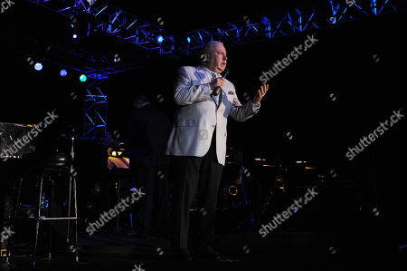 JULY 12: Frank Sinatra Jr. performs at the Seminole Coconut Creek Casino on in Coconut Creek, Florida