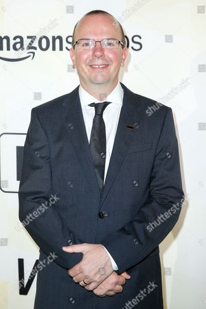 Col Needham arrives at IMDB's 25th Anniversary Party at Sunset Tower Hotel, in West Hollywood, Calif