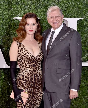"""Robert Zemeckis, right, and Leslie Harter Zemeckis arrive at the Los Angeles premiere of """"Allied"""" at the Regency Village Theatre on"""