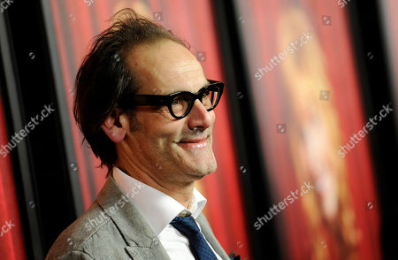 "Damian Young, a cast member in ""The Comeback,"" poses at the premiere of the new season of the show at the El Capitan Theatre, in Los Angeles"