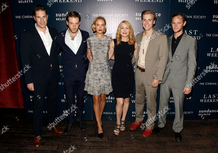 """Editorial image of NY Premiere of """"Last Weekend"""", New York, USA - 13 Aug 2014"""