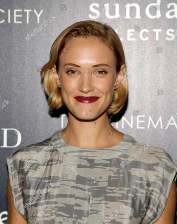 """Stock Picture of Actress Alexia Rasmussen attends a screening of """"Last Weekend"""" on in New York"""