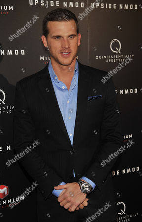 """Actor Matt Nordgren poses at a special screening of the film """"Upside Down"""" at the ArcLight Hollywood on in Los Angeles"""